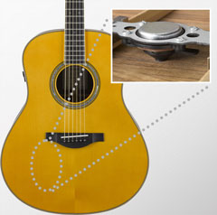 Yamaha Transacoustic гитара купить