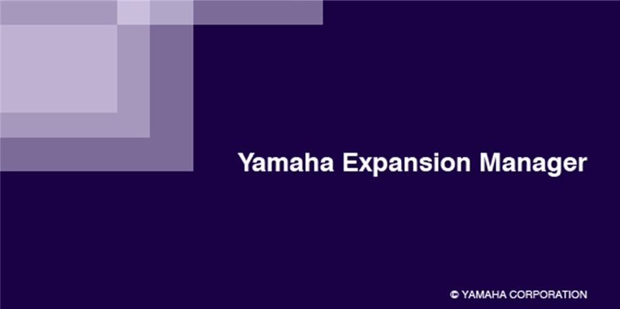 Yamaha Expansion Manager