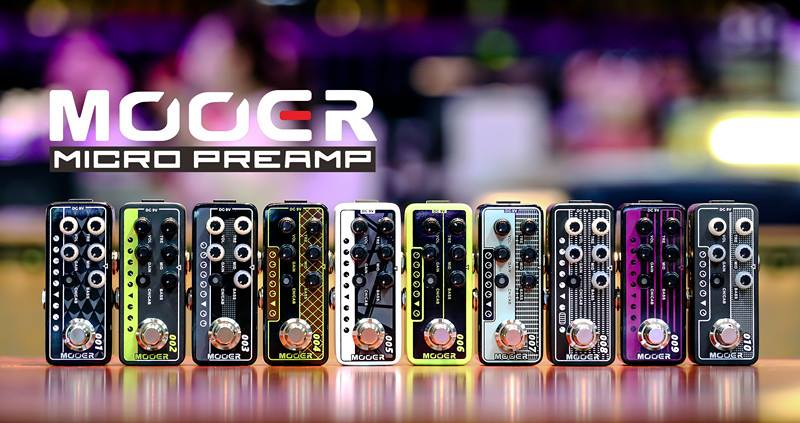 Mooer Micro Preamp series педали преампы для электрогитары купить