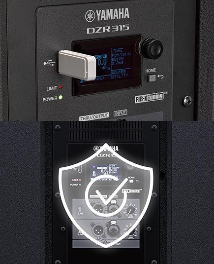 Yamaha DZR USB защита