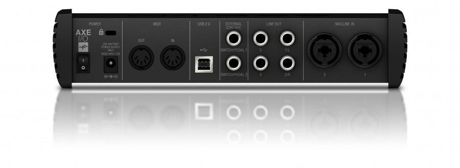IK Multimedia AXE I/O задняя панель