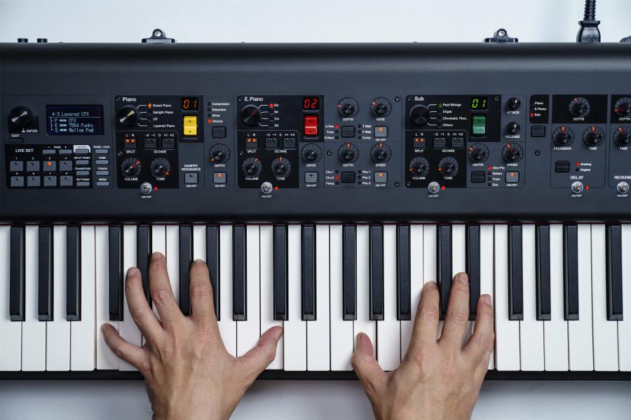 Yamaha CP73 CP88 клавиатура