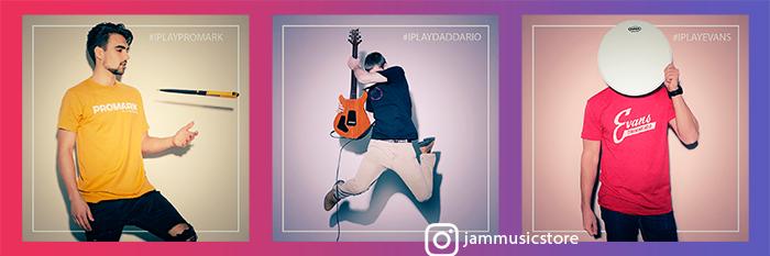Instagram конкурс I Play D`Addario #iplaydaddario