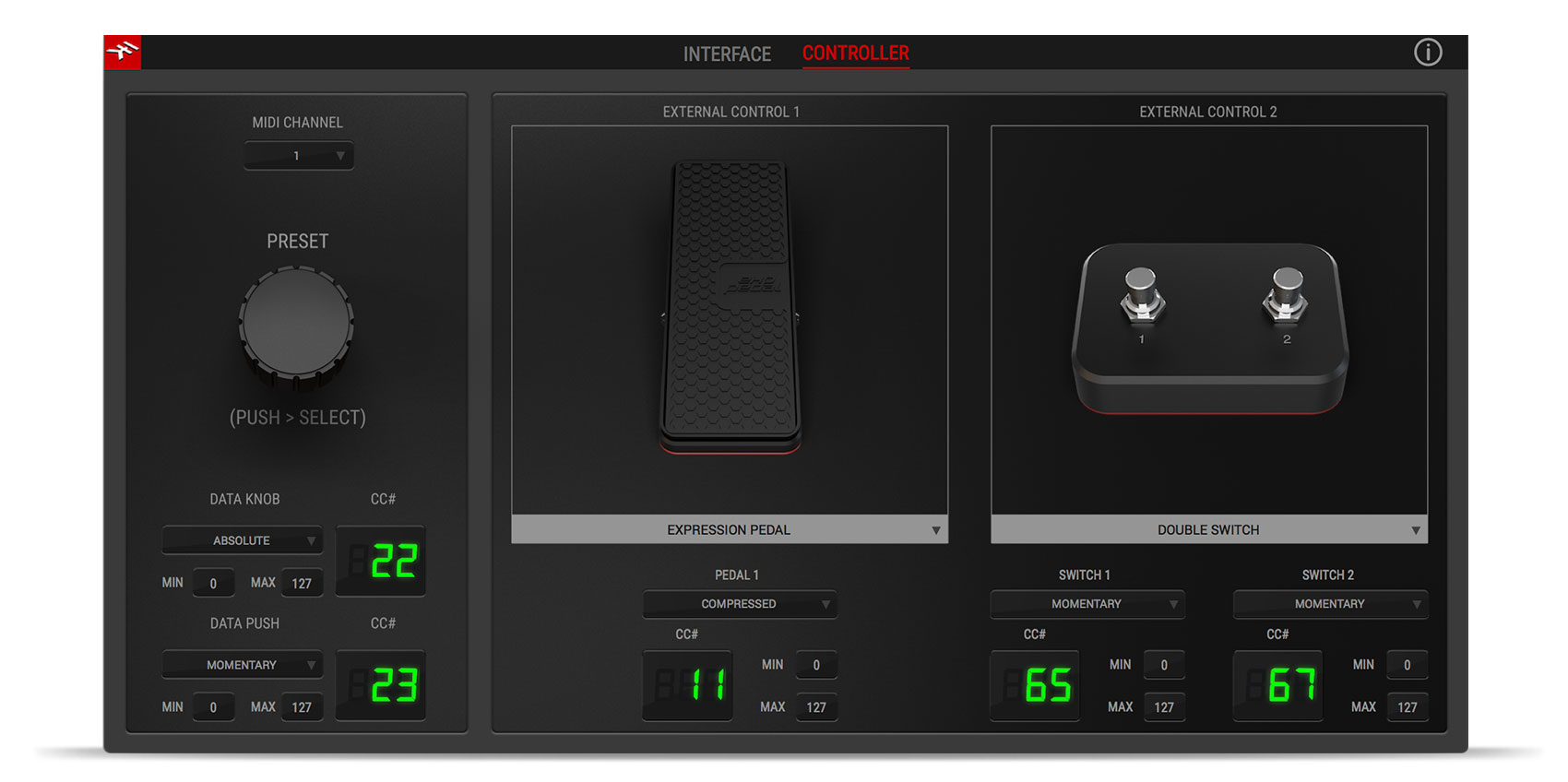 IK Multimedia AXE I/O контроллеры