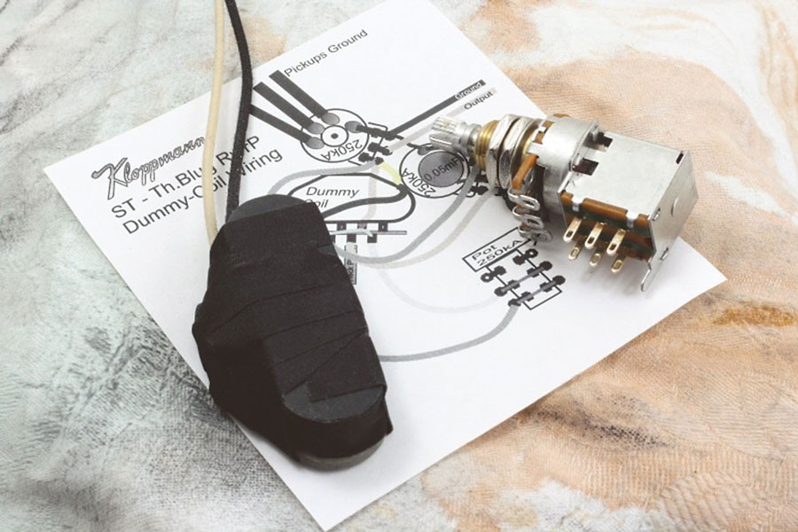 шумоподавление с dummy coil