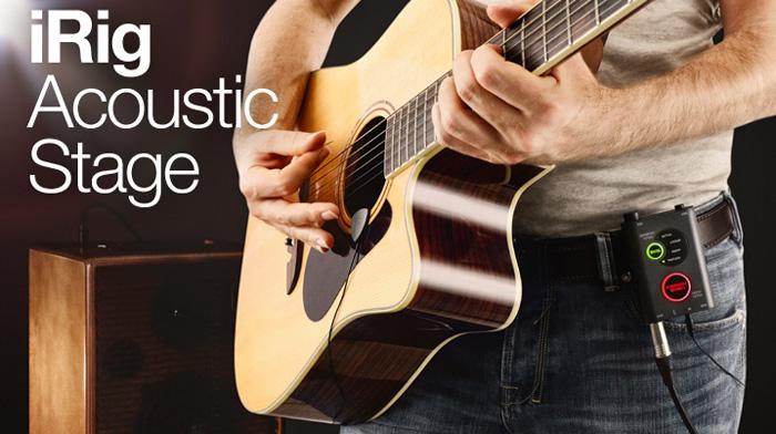iRig Acoustic Stage - JAM.UA