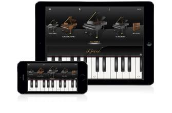 IK IGrand Piano Free for iPhone and iPAD