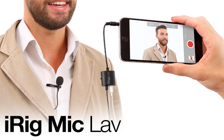 IK Multimedia iRig Mic Lav - JAM.UA
