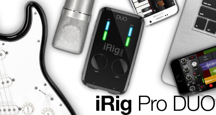 IK Multimedia iRig Pro Duo JAM.UA