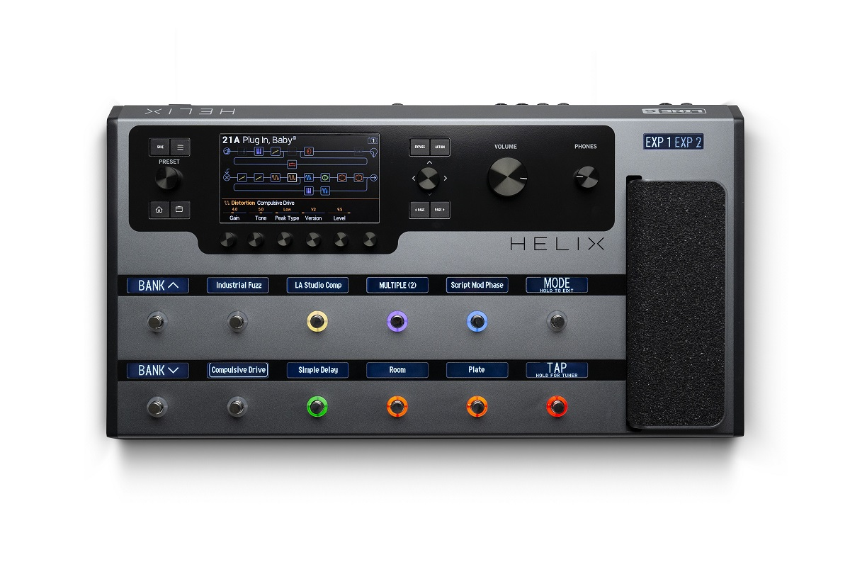 Line 6 Helix Limited Edition Gray