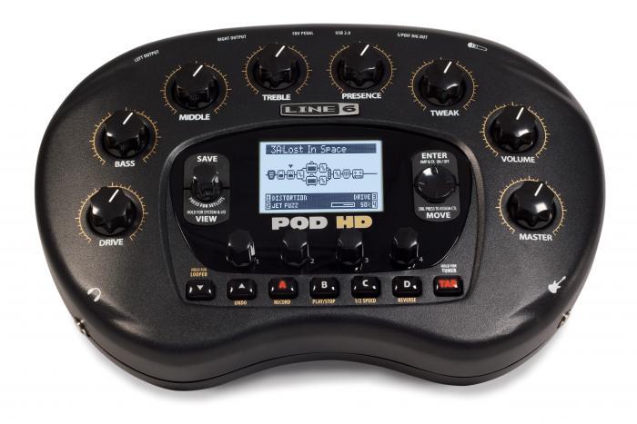 Line6 POD HD v2.1 процессор для гитары