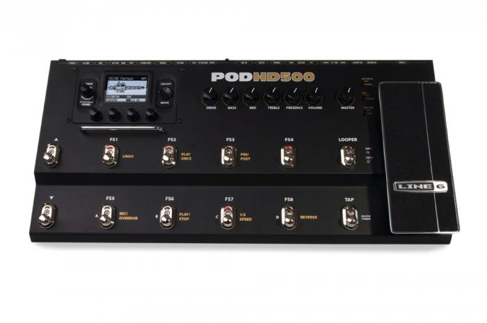 Line6 POD HD500 v2.1 процессор для гитары