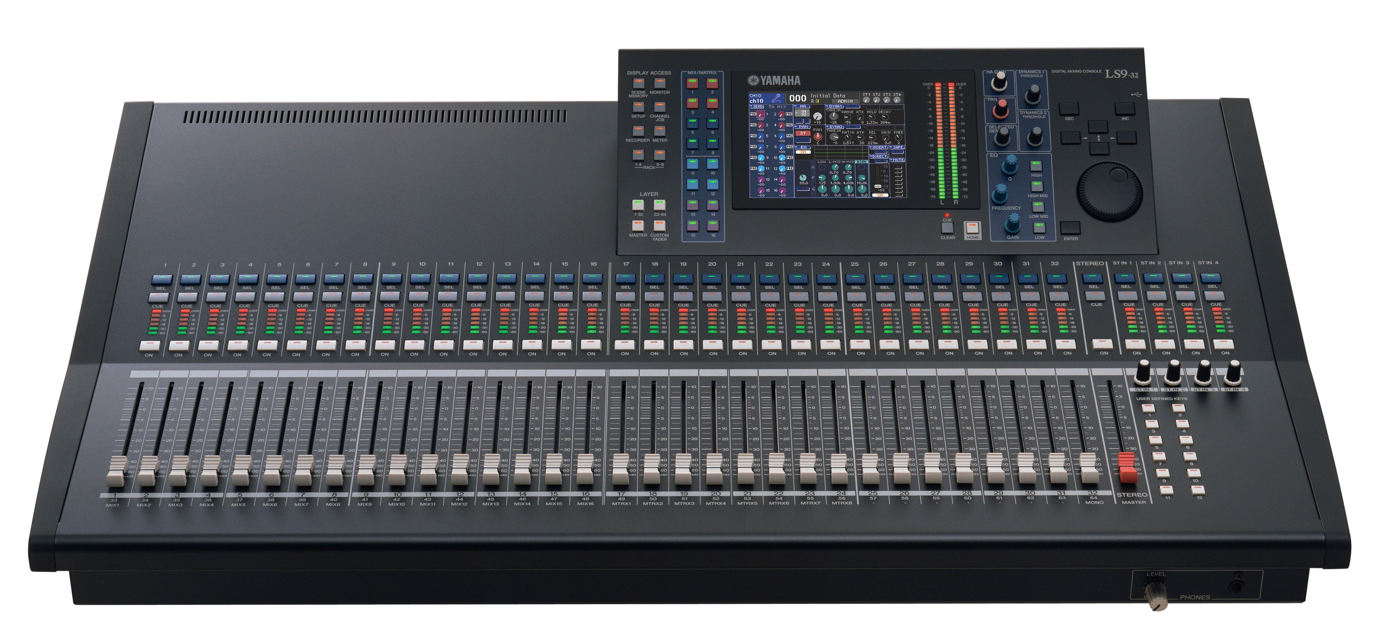 Цифровой микшер YAMAHA LS9-32 Цифровой микшер YAMAHA LS9-32.  Производство: Япония.  Музыкальные инструменты.