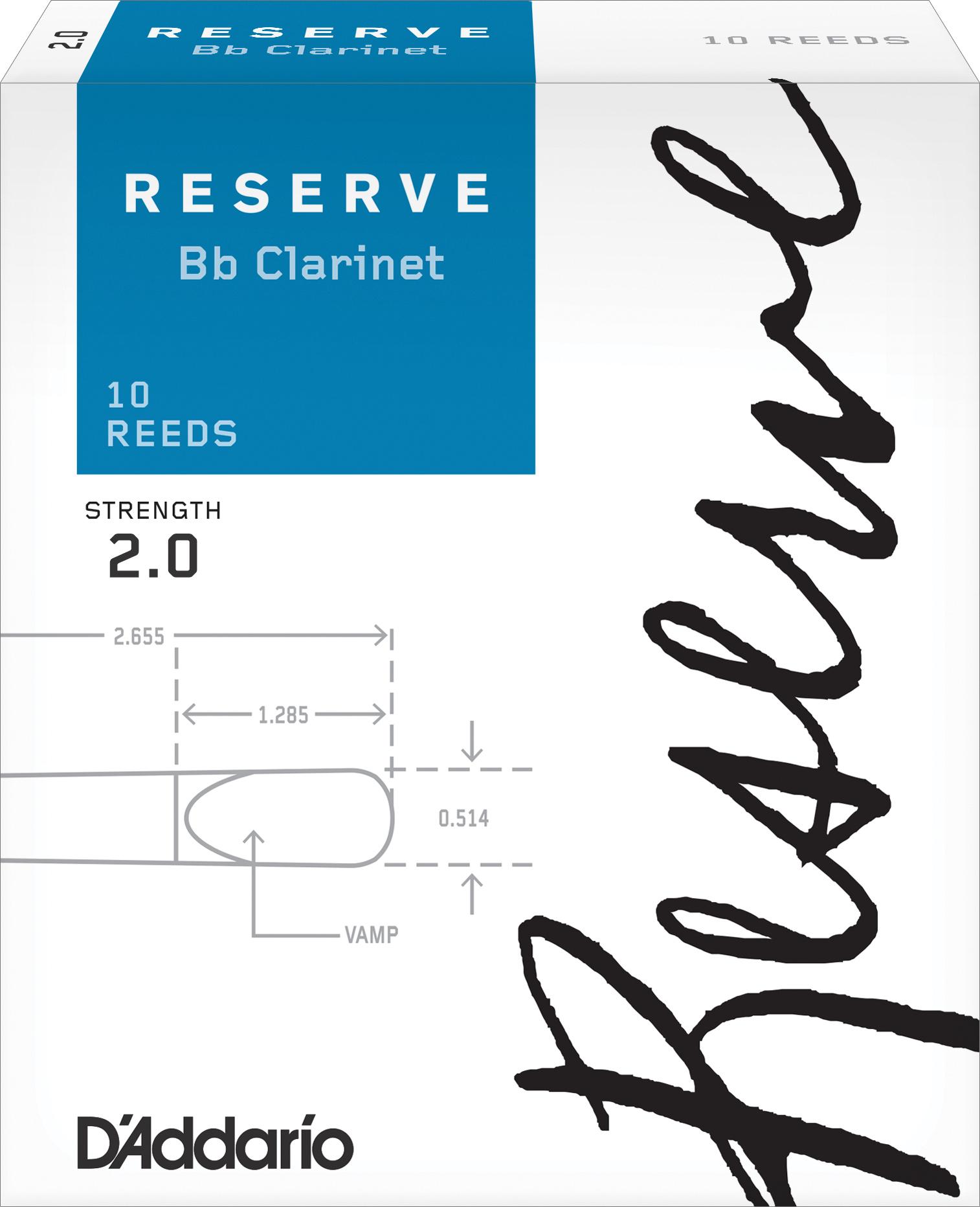 D`Addario Reserve трости для кларнета