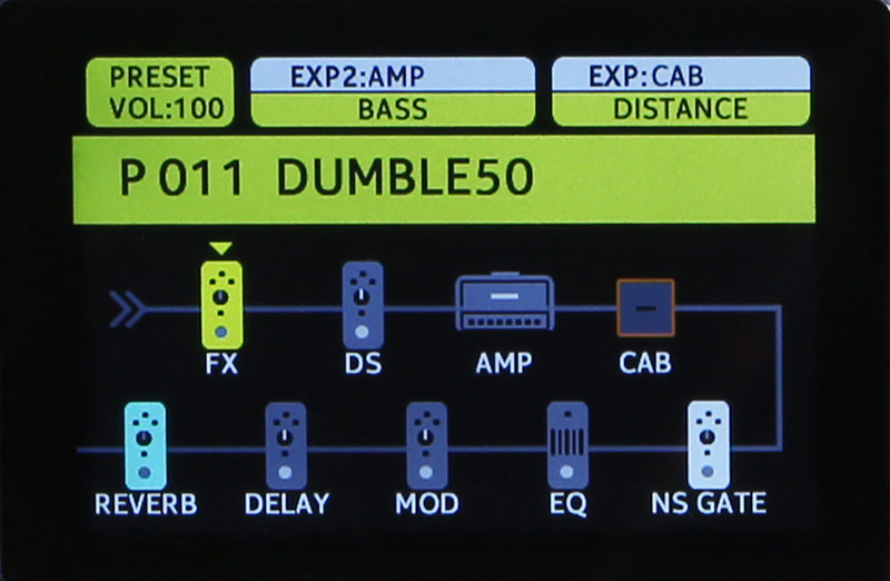 MOOER GE200 Гитарный процессор эффектов