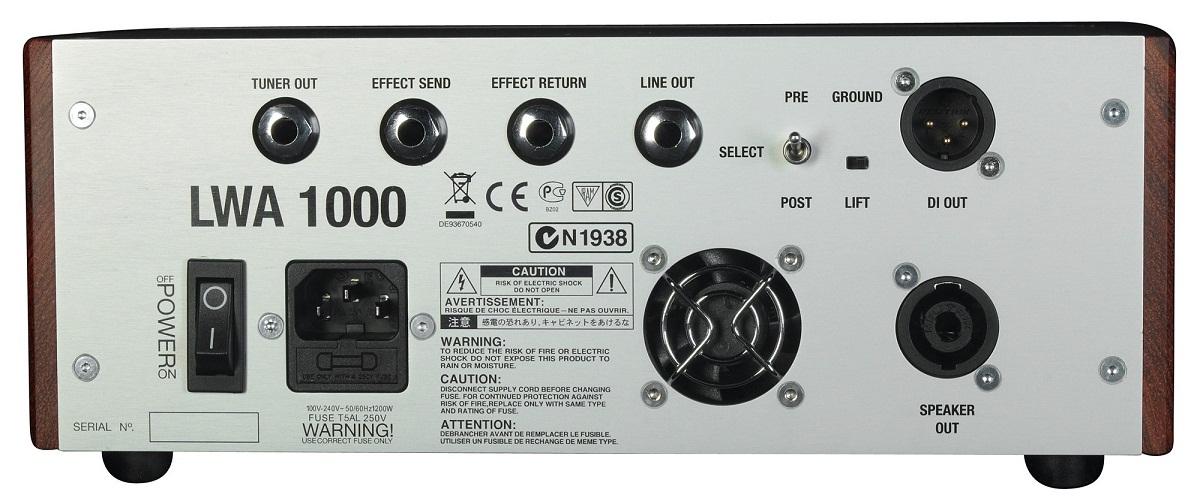 Warwick LWA1000 усилитель для басгитары купить