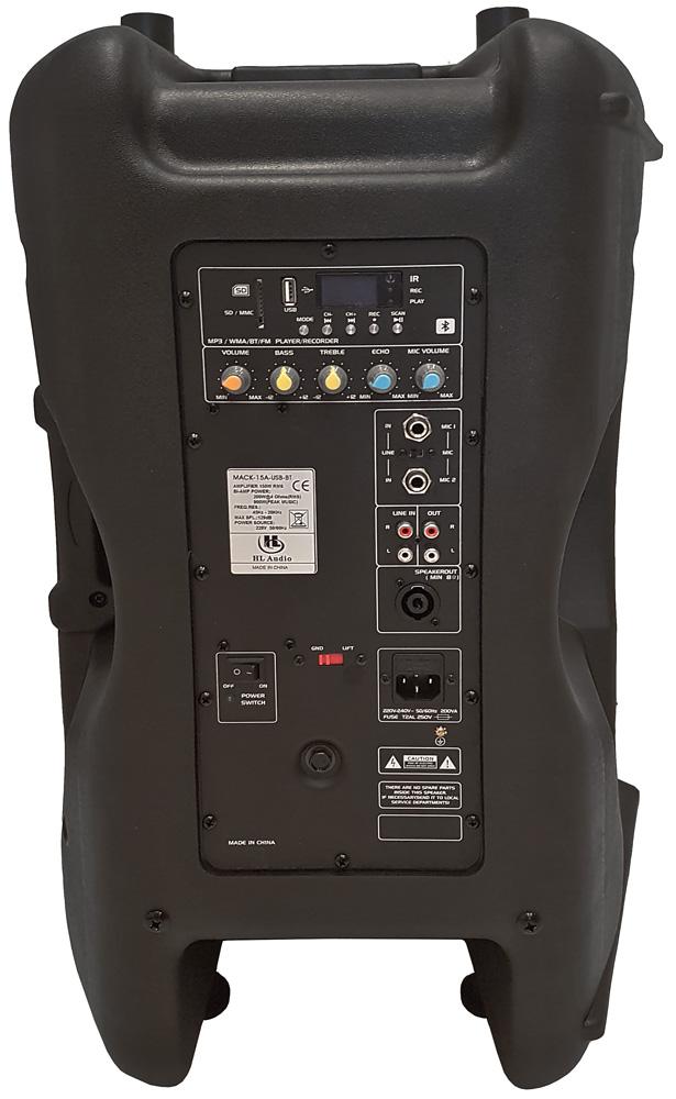 HL Audio Mack15A USB BT акутическая система