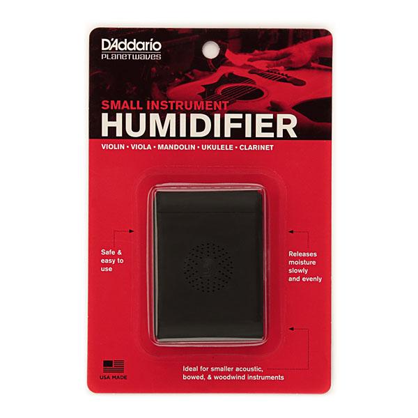 Small Instrument Humidifier, регулятор влажности для небольших гитар, смычковых и духовых инструментов, губкового типа, для размещения в кейсе с инструментом, повышает влажность.
