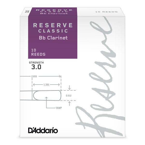 D`Addario Reserve Classic трости для кларнета