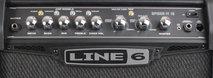 Line6 Spider IV 15 комбик