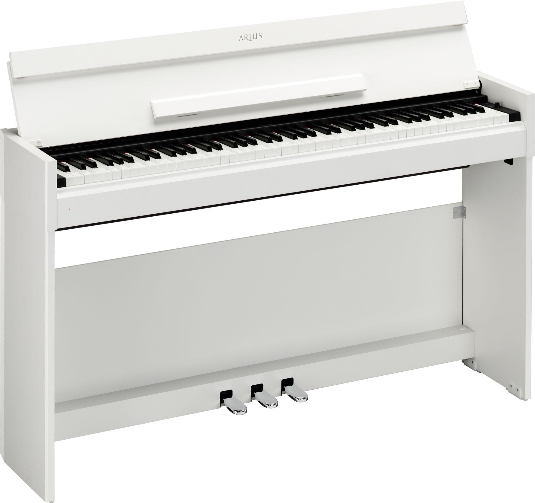 Yamaha YDP-S51 white цифровое пианино белое
