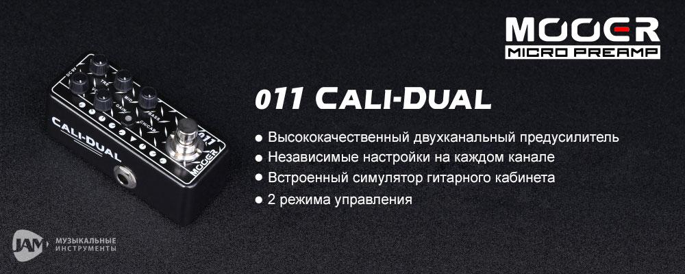Mooer - 011 Cali-Dual - JAM.UA