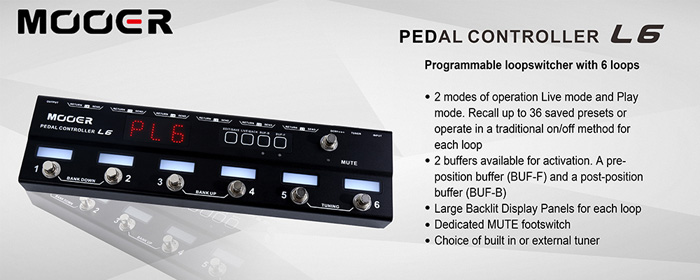 Mooer Pedal Controller -