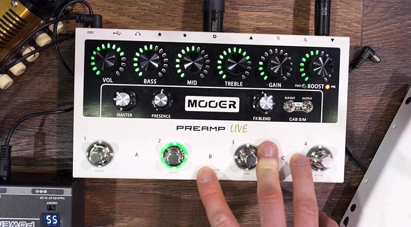 Mooer Preamp Live - JAM.UA
