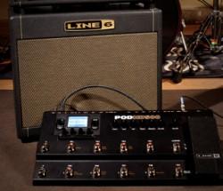 Line6 DT25 112 combo + POD HD500