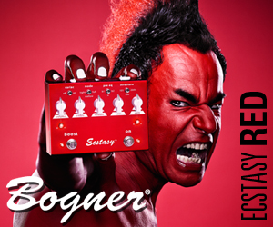 Bogner Ecstasy Red Distortion