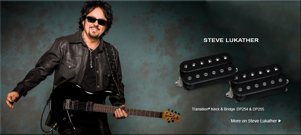 DiMarzio Transition pickups Steve Lukather