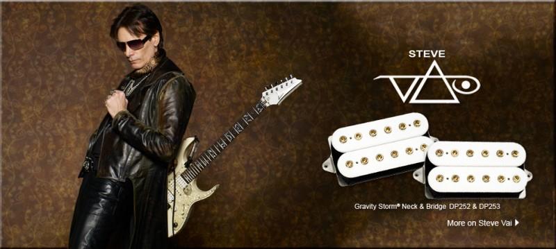 DiMarzio Gravity Storm pickups Steve Vai