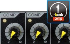 Yamaha MGP series MGP12X MGP16X 1-knob compressor