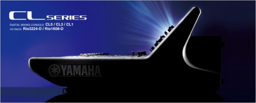 Yamaha CL1/CL3/CL5 цифровые микшерные консоли