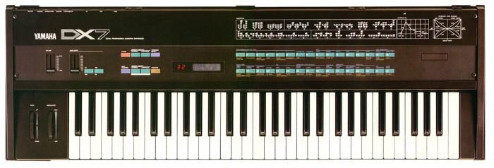 Yamaha DX7 синтезатор