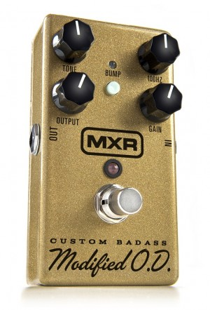 Dunlop MXR M77 Custom Badass Modified Overdrive Special Edition