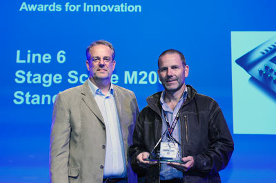 Цифровой микшер Line6 StageScape M20d награда Plasalondon 2013