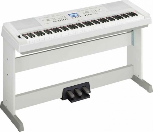 Yamaha DGX650 White синтезатор