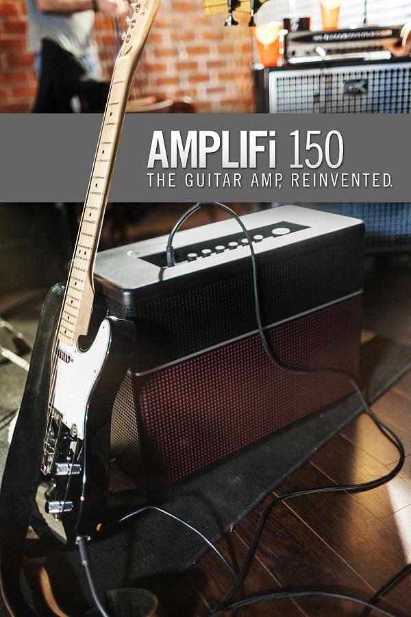 Line6 Amplifi150 моделирующий гитарный комбоусилитель купить