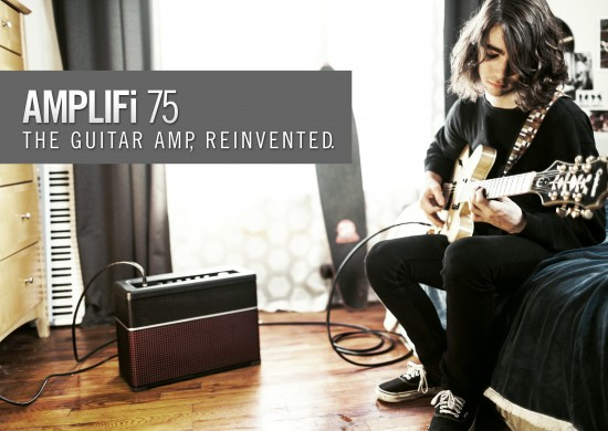 Line6 Amplifi75 моделирующий гитарный комбоусилитель