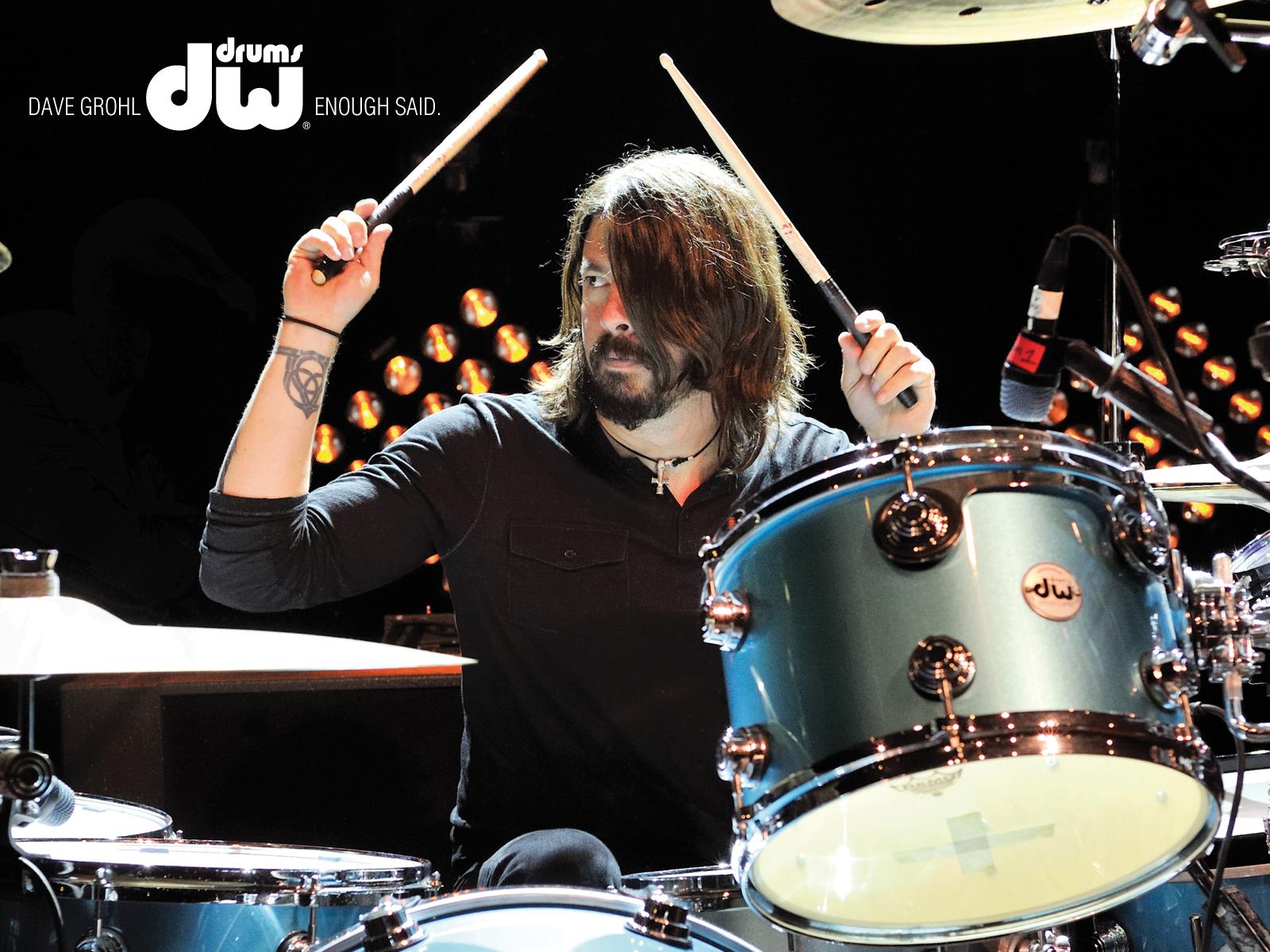 Dave Grohl DW Drums барабаны купить в Украине