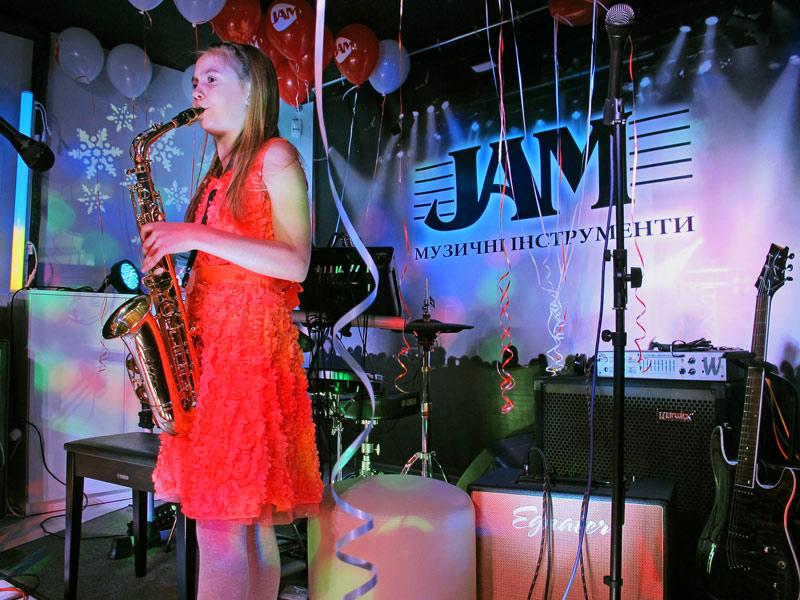 Студия музыкального развития JAM Киев отчетный концерт 25 Декабря 2014
