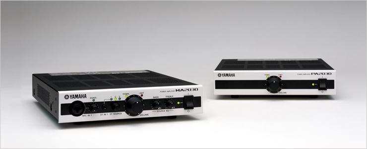 Yamaha MA2030 PA2030 усилители мощности для инсталляций купить