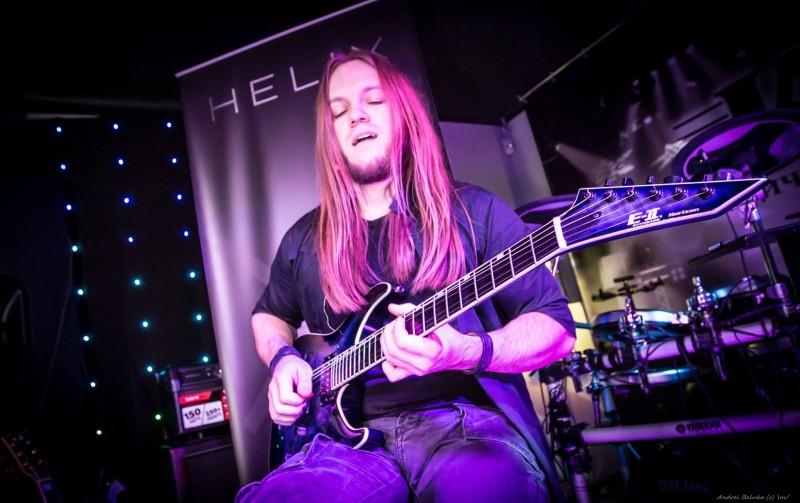 Мастеркласс Роман Скоробагатько (гитарист The Hardkiss) в магазине JAM Киев Драгоманова 31д. 28 ноября 2015