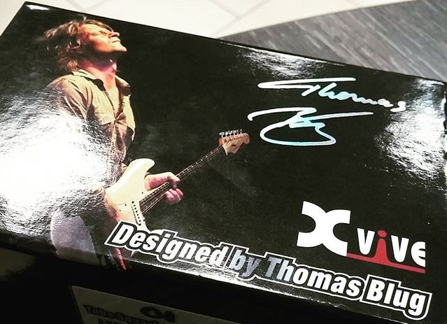 Xvive Thomas Blug педали эффектов для гитары