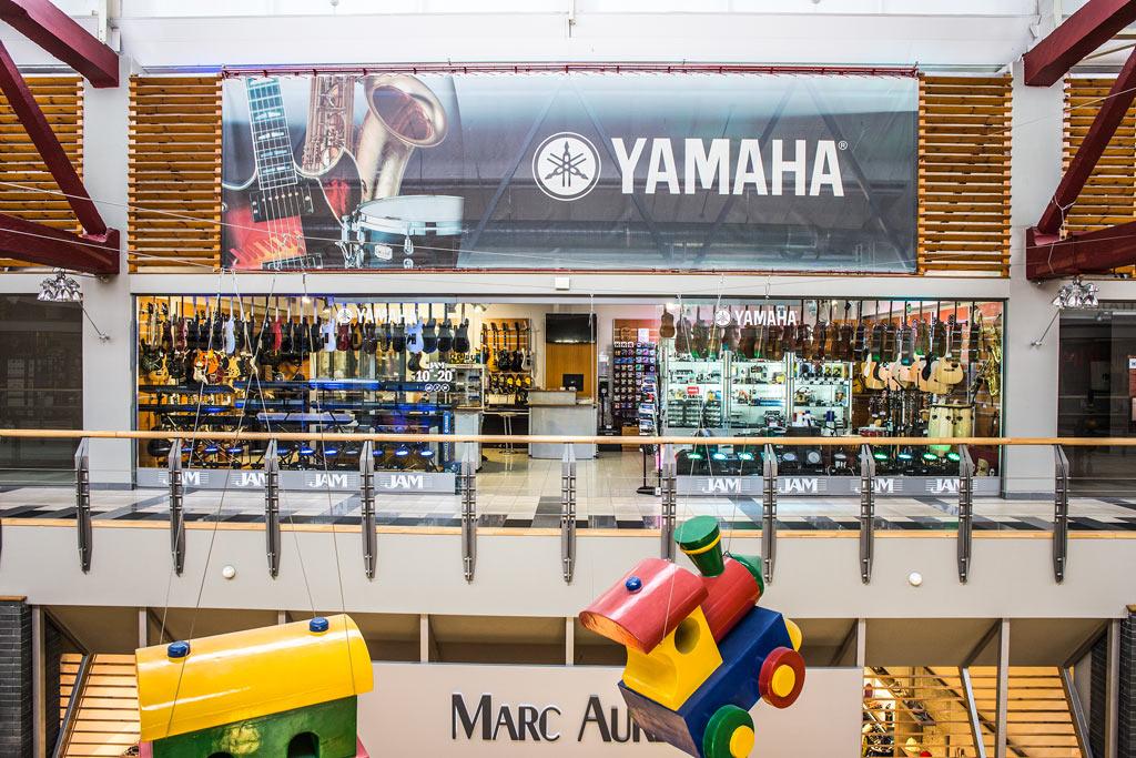 Музыкальный магазин Yamaha JAM Киев ТЦ Большевик