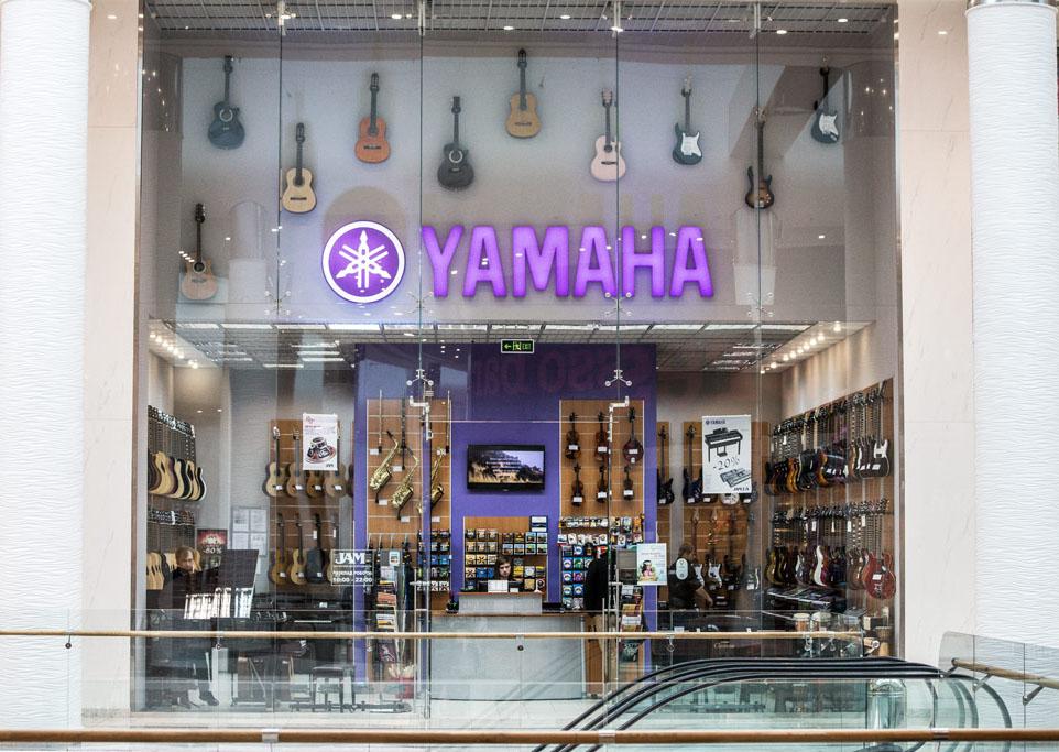 Музыкальный магазин Yamaha JAM Киев ТРЦ Ocean Plaza