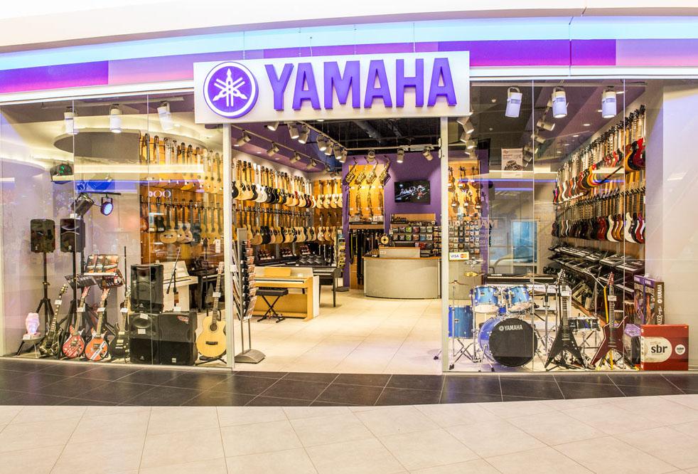 Музыкальный магазин Yamaha JAM Киев ТЦ Район