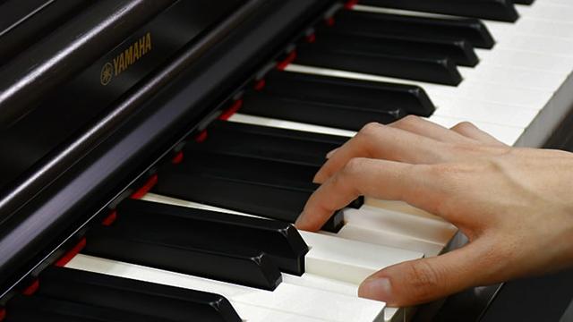 Yamaha GH3 клавиатура