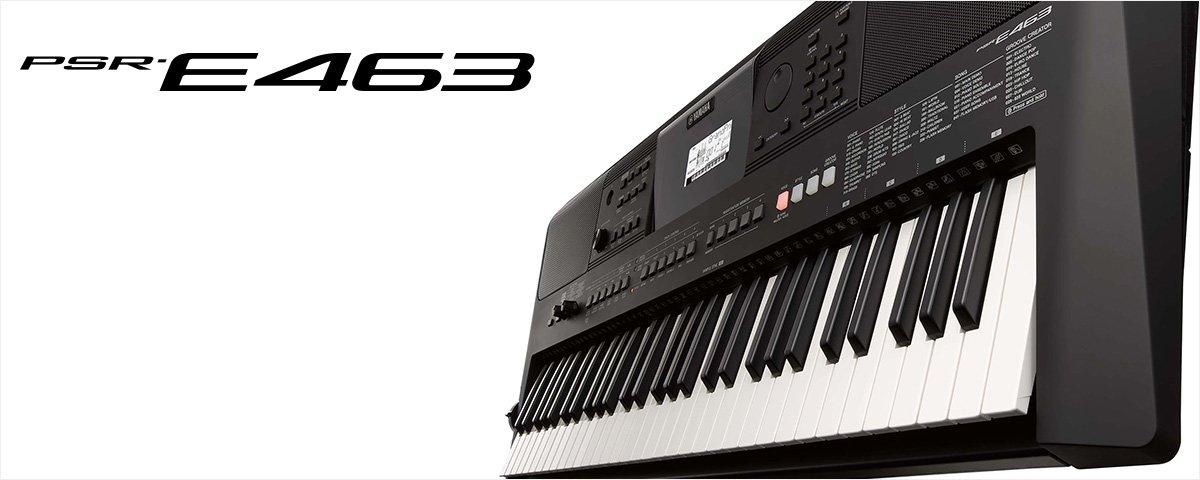 Yamaha PSR-E463 - JAM.UA